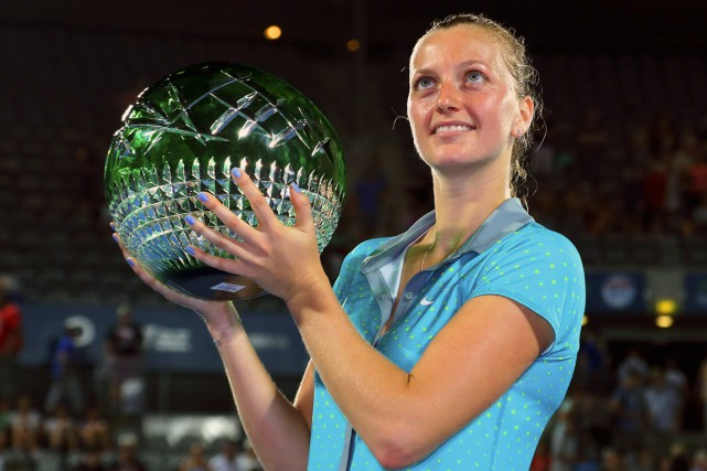 Petra Kvitova... (Photo Rick Stevens, Reuters)