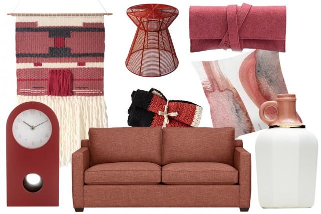 Un peu bordeaux, un peu brun, un peu rose: la couleur de l'année selon Pantone... (Photos fournies par les fabricants)