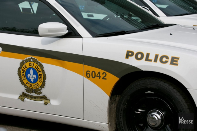 Deux personnes ont été blessées, vendredi matin, aux environs de 10h, à la... (Archives, La Presse)