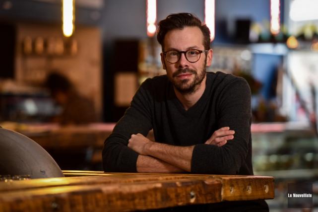 Quand Pascal Blanchet se concentre sur des projets... (Photo: François Gervais, Le Nouvelliste)