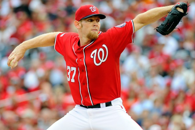 Stephen Strasburg... (Photo Brad Mills, USA Today Sports)