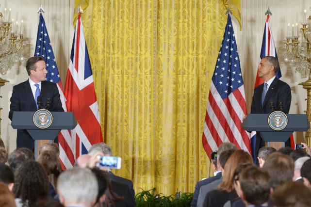 «Je sais que David (Cameron, le premier ministre... (PHOTO MANDEL NGAN, AFP)