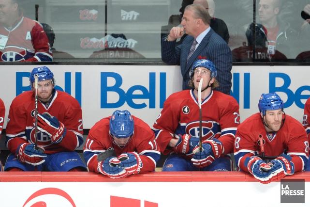Le Canadien a subi la défaite à trois... (Photo Bernard Brault, La Presse)