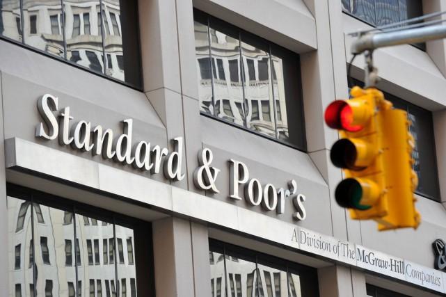 L'agence de notation financière américaine Standard and Poor's (S&P) a maintenu... (PHOTO ARCHIVES AFP)