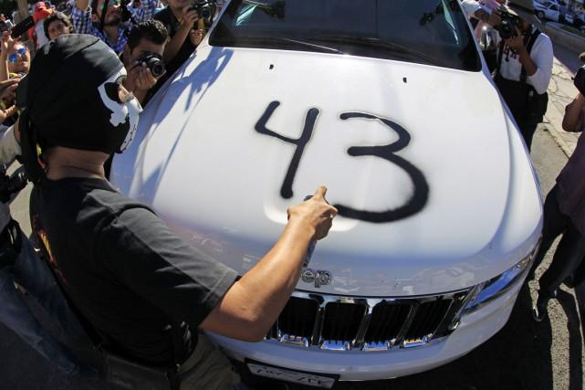 L'affaire des 43a secoué le Mexique, pays pourtant... (PHOTO JORGE DAN LOPEZ, REUTERS)