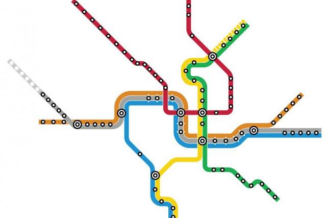 Seriez-vous capable d'identifier une ville par son réseau de métro?