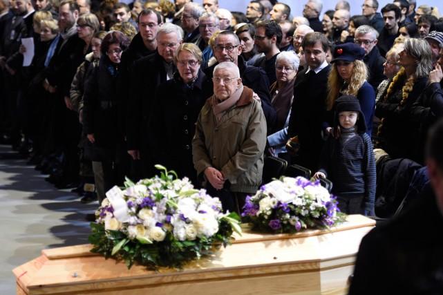 Outre la famille de Stéphane Charbonnier, dit Charb,... (PHOTO MARTIN BUREAU, AFP)