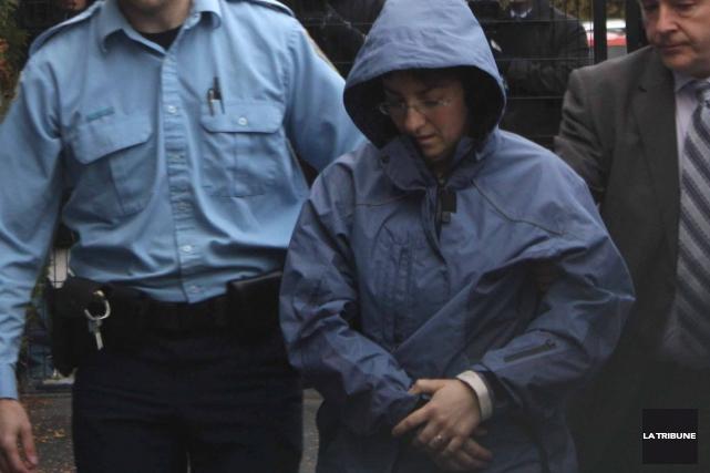 Sonia Blanchette a été arrêtée en décembre 2012.... (Archives, La Tribune)