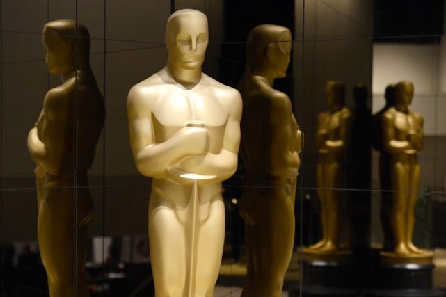 Depuis jeudi, le mot-dièse OscarsSoWhite (les Oscars si... (Photo Phil McCarten, archives Reuters)