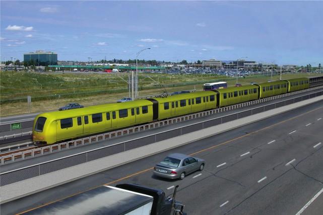 Aperçu d'un système de transport collectif que pourrait...