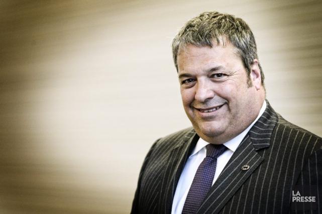 Martin Deschênes, PDG Groupe Deschêne... (PHOTO BERNARD BRAULT, LA PRESSE)