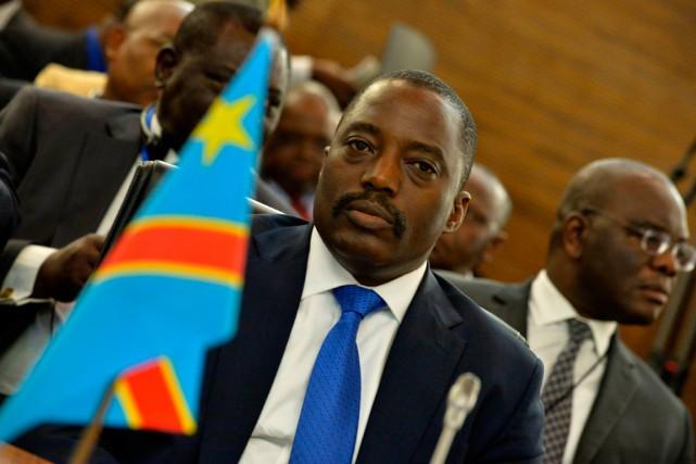 Le président Joseph Kabila n'a pas encore signé... (PHOTO ALEXANDER JOE, ARCHIVES AGENCE FRANCE-PRESSE)