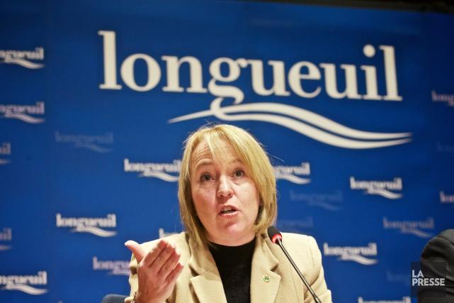 Caroline St-Hilaire, mairesse de Longueuil.... (PHOTO ANDRÉ PICHETTE, ARCHIVES LA PRESSE)