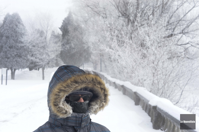 Selon Environnement Canada, les redoux sont normaux en... (Photo Sylvain Mayer, Le Nouvelliste)