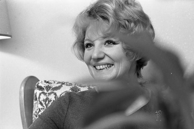 Suzanne Lapointe photographiée en 1969.... (Photo Pierre Mccann, archives La Presse)
