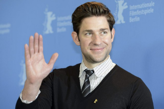 L'acteur John Krasinski.... (Photo Archives AFP)