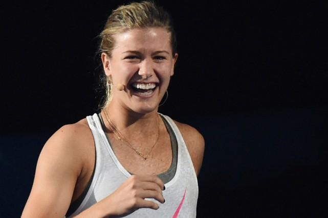 Eugenie Bouchard a terminé son association avec Nick... (PHOTO MAL FAIRCLOUGH, AFP)