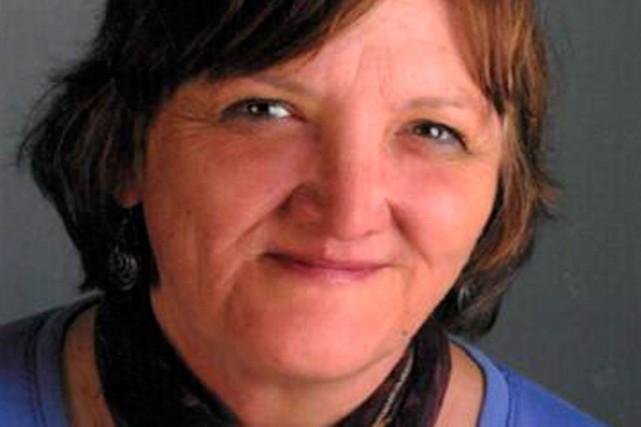 La conseillère Cindy Saucier.... (Photo tirée de Facebook)