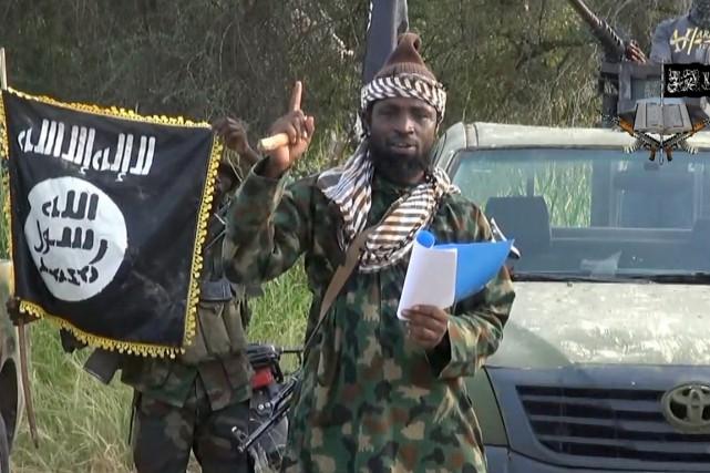 Le chef de Boko Haram, Abubakar Shekau... (PHOTO ARCHIVES AFP/BOKO HARAM)