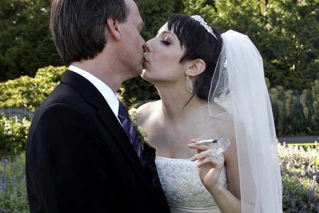 Jodie Emery est la femme de Marc Emery,... (Photo Richard Lam, archives La Presse Canadienne)