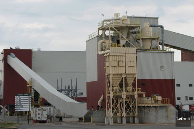 L'usine de Papiers White Birch, dans le secteur... (Archives, LeDroit)