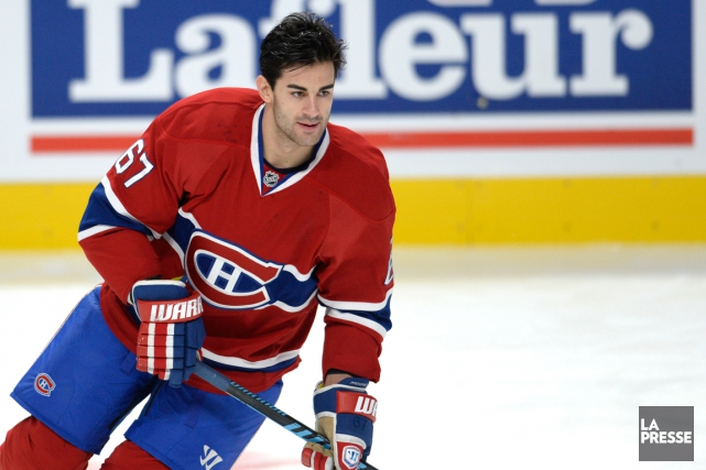 Max Pacioretty... (PHOTO BERNARD BRAULT, LA PRESSE)