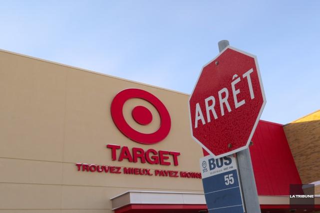 Les effets de l'annonce de la fermeture des succursales canadiennes de Target,... (Archives, La Tribune)