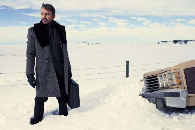 Billy Bob Thornton dans Fargo, sacrée meilleure minisérie... (Photo La Presse Canadienne, Matthias Clamer)