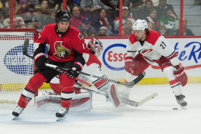 Les Hurricanes de la Caroline ont défait les... (Photo Marc DesRosiers, USA TODAY Sports)