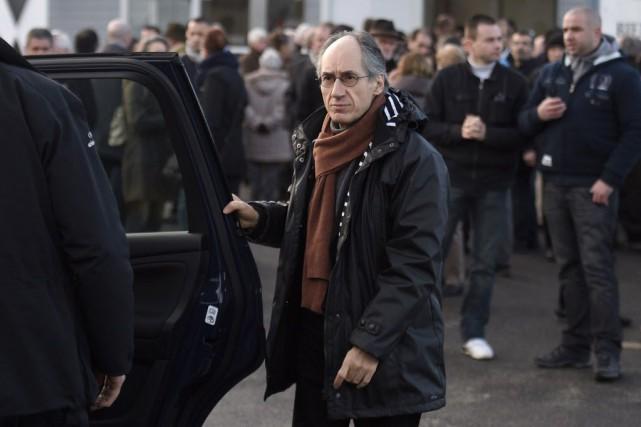 Le rédacteur en chef de Charlie Hebdo, Gérard... (PHOTO MARTIN BUREAU, AFP)