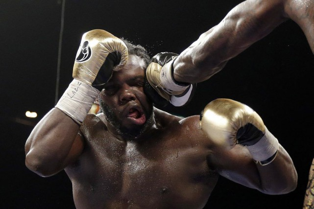 Bermane Stiverne.... (Photo Isaac Brekken, archives AP)
