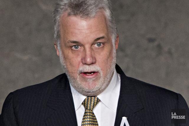 Le premier ministre du Québec, Philippe Couillard.... (PHOTO EDOUARD PLANTE-FRÉCHETTE, ARCHIVES LA PRESSE)