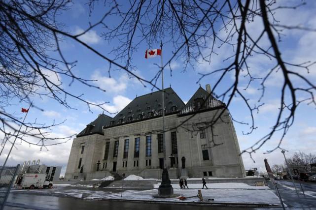 La Cour suprême du Canada a annoncé vendredi... (PHOTO CHRIS WATTIE, ARCHIVES REUTERS)