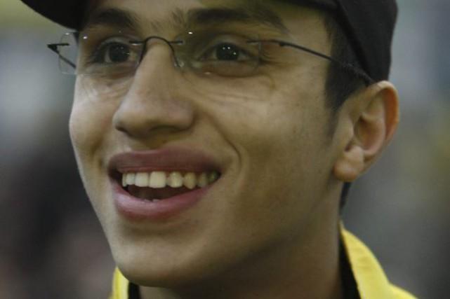 Un des fils d'Imad Moughniyeh, commandant militaire assassiné... (PHOTO RAMZI HAIDAR, ARCHIVES AFP)