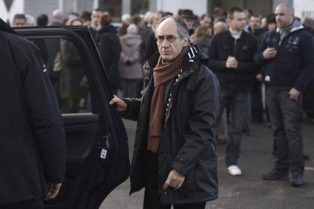 GérardBiard, rédacteur en chef de Charlie Hebdo.... (PHOTO MARTIN BUREAU, AFP)