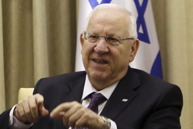 Le président israélien Reuven Rivlin... (PHOTO GALI TIBBON, AFP)