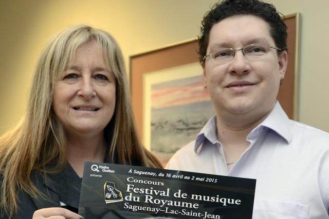 Le président-directeur général du Festival de musique du... ((Photo Jeannot Lévesque))