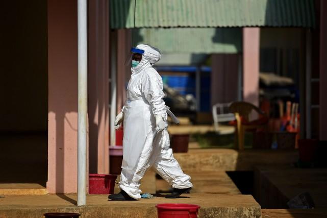L'épidémie d'Ebola est terminée au Mali, où 42 jours se sont écoulés sans... (Photo FRANCISCO LEONG, Archives AFP)