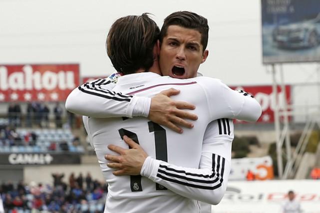 Le Real Madrid, facile vainqueur de Getafe (3-0) grâce son quatuor magique... (Photo: Reuters)