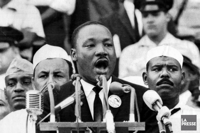 Martin Luther King... (PHOTO ARCHIVES LA PRESSE)