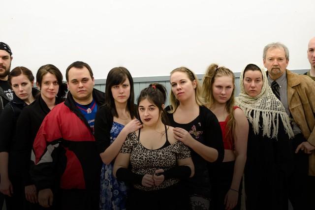 La troupe de théâtre Frascq se prépare à... (Photo courtoisie, Sarah-Jane Munger)