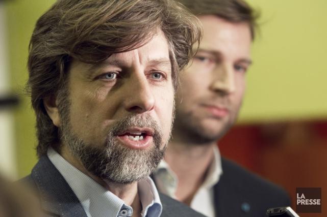 Luc Ferrandez restera chef intérimaire de Projet Montréal... (PHOTO OLIVIER JEAN, ARCHIVES LA PRESSE)