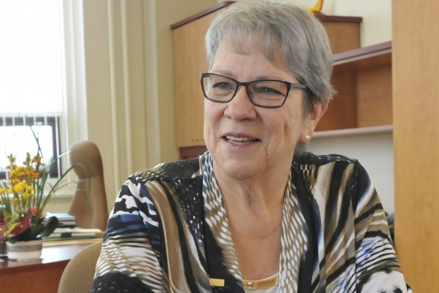 La nouvelle directrice générale du Cégep de Chicoutimi,... ((Photo Michel Tremblay))