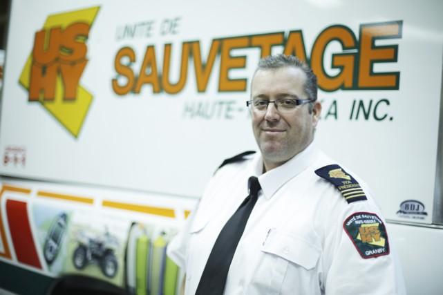 L'Unité de sauvetage Haute-Yamaska se dote d'un nouveau... (photo Catherine Trudeau)