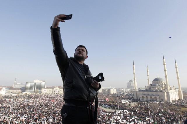 Ils étaient «plus de 800000» manifestants, a affirmé... (PHOTO EDUARD KORNIYENKO, REUTERS)
