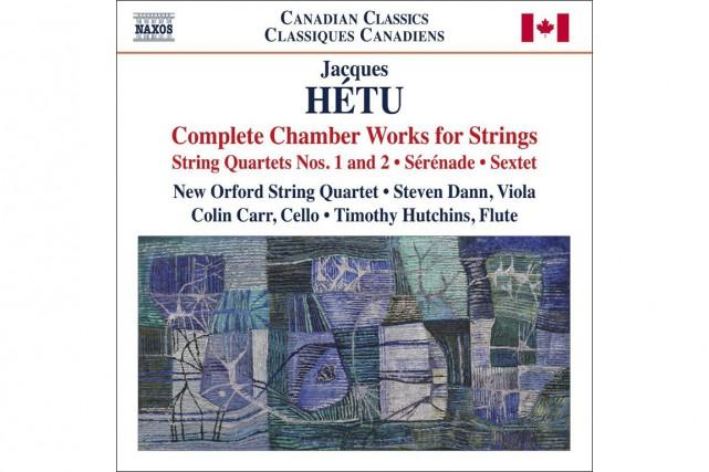 CLASSIQUE, Nouveau Quatuor Orford, Steven Dann, altiste, Colin Carr,...