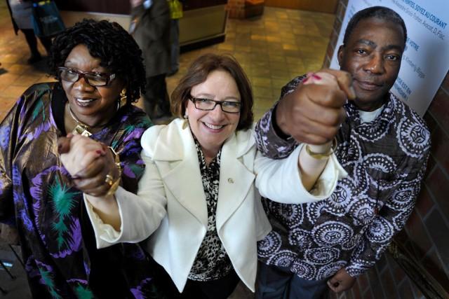 Traore Ami Diallo, ambassadrice du Mali au Canada;... (Martin Roy, LeDroit)