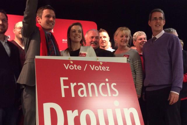 Le lobbyiste Francis Drouin a remporté la course... (Samuel Blais-Gauthier, LeDroit)