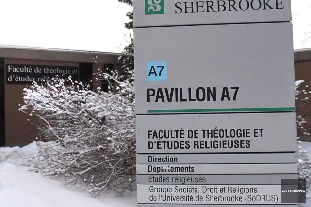 L'annonce de la fermeture de la faculté de théologie et d'études religieuses a... (Archives La Tribune, Maxime Picard)