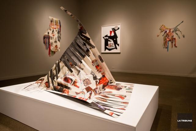 Les créations de Luanne Martineau dégagent beaucoup de légèreté. Probablement... (Imacom, Jessica Garneau)